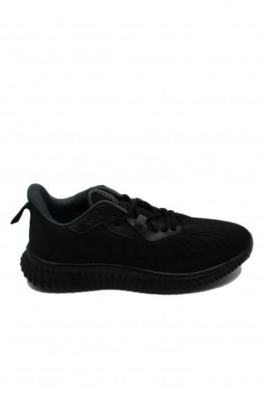 Pantofi sport negri barbati din material textil Ryt Bentley