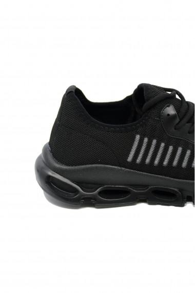 Pantofi sport negri barbati din material textil Ryt Miami