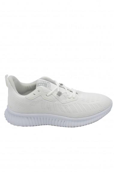 Pantofi sport albi barbati din material textil Ryt Bentley