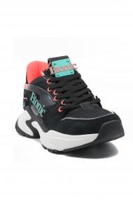 Sneakers dama Etonic negri din material textil