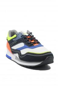 Pantofi sport barbati Gas Sinder Mix alb-neon