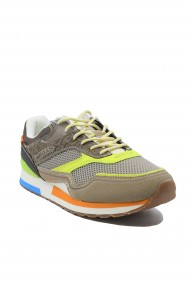 Pantofi sport barbati Gas Sinder Mix bej-neon