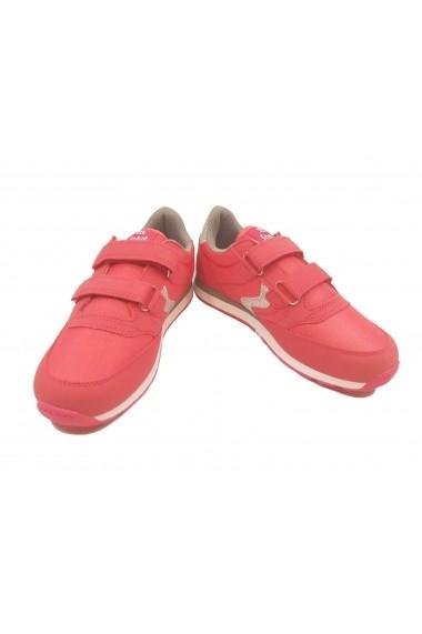 Pantofi sport sport fete fucsia/argintiu