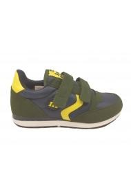 Pantofi sport baieti verde/gri