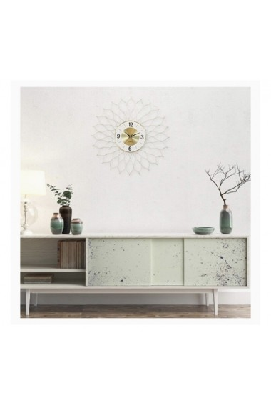 Ceas de perete Nordic style Flower Tick