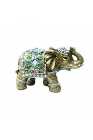 Figurina Elefant Green fortune  Feng Shui