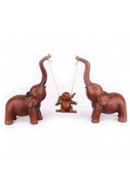 Elefanti Happy Family Brown
