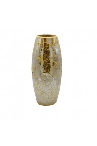 Vaza sticla Silver&Gold H30