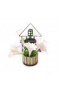 Aranjament floral cu crini Welcome