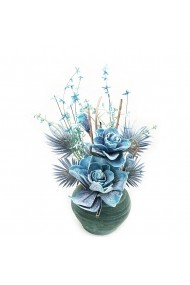 Aranjament floral Blue Rose