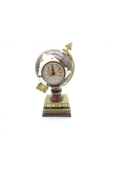Ceas glob  decoratiune de birou clasica pentru economisirea monedei - Decor de casa creativ