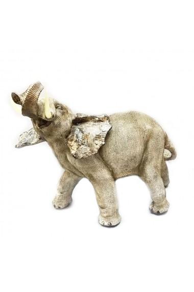 Elefant cu trompa in sus