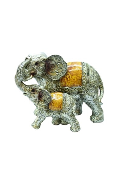 Set 2 elefanti feng shui 22 x 18 cm
