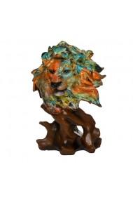 Decoratiune multicolora Leu Savana Style 15 x 31 cm