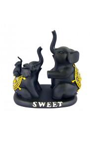 Elefanti negri Sweet 16 x 17 cm
