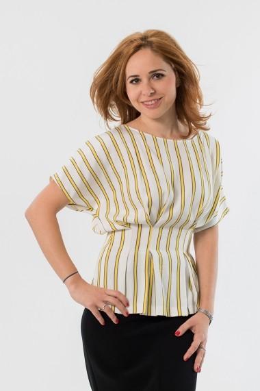 Bluza EMA T Concept cu dungi