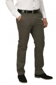 Pantaloni barbati cu buzunare oblice kaki prafuit
