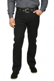 Pantaloni barbati regular fit bleumarin