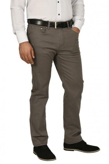 Pantaloni barbati regular fit gri