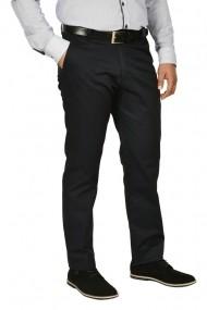 Pantaloni clasici cu buzunare oblice Town bleumarin