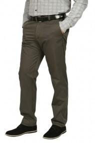 Pantaloni clasici cu buzunare oblice Town kaki