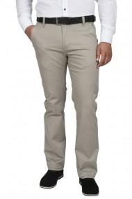 Pantaloni barbati cu buzunare oblice gri deschis