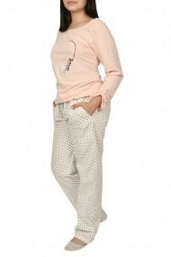 Pijamale dama Sweet Love roz