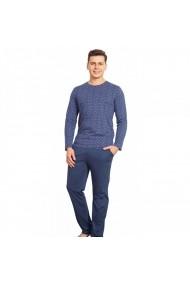 Pijamale bumbac cu print geometric Vienetta