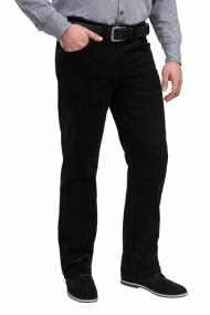 Pantalon raiat clasic Forza negru