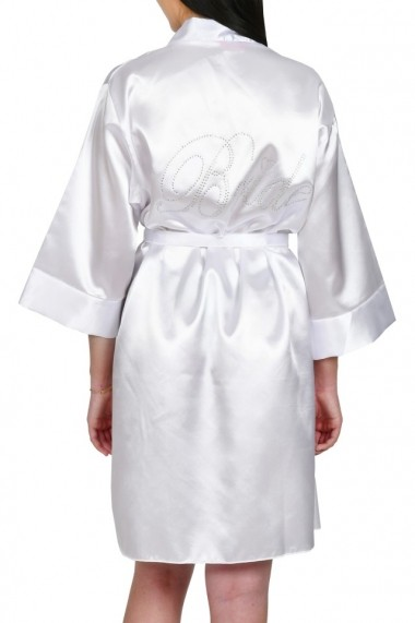 Halat BRIDE personalizat cu pietricele alb
