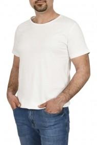Tricou bumbac la baza gatului Glo Story alb