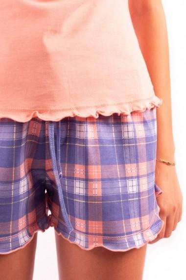 Pijama dama cu pantalon scurt BEST FRIENDS FOREVER