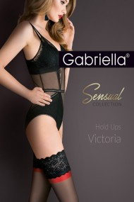 Ciorapi banda adeziva Sensual Victoria