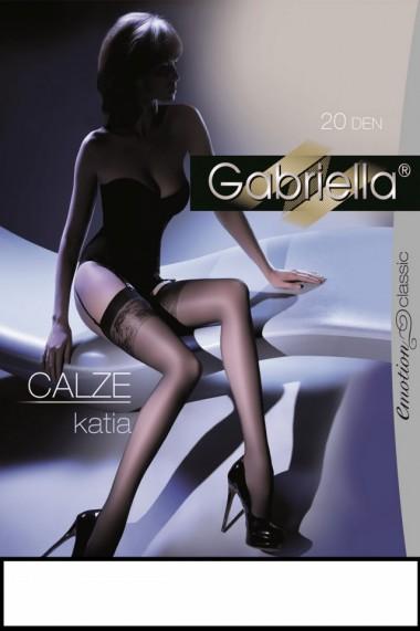 Ciorapi pentru portjartier Calze Katia Gabriella