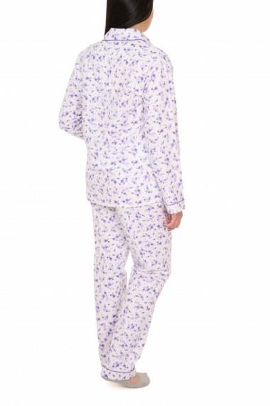 Pijamale dama cu nasturi Amalia mov