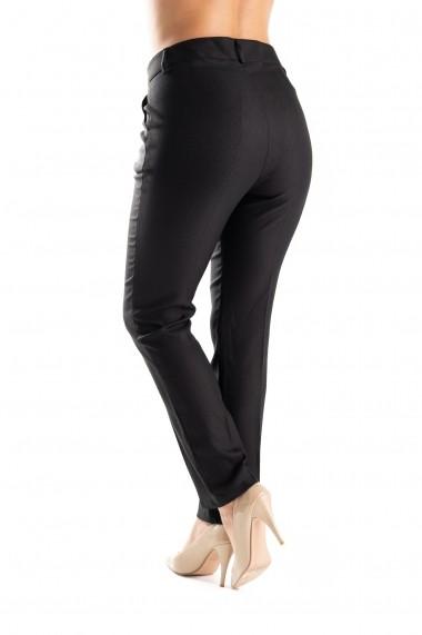 Pantaloni Eleganti Negri Marime Mare Agnete