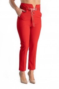 Pantaloni Dama Rosu Eleganti Keily