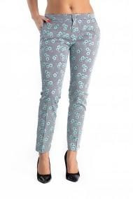 Pantaloni Dama Flora Green
