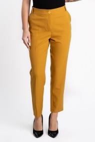 Pantaloni Eleganti Galben Mustar Masura Mare Bella