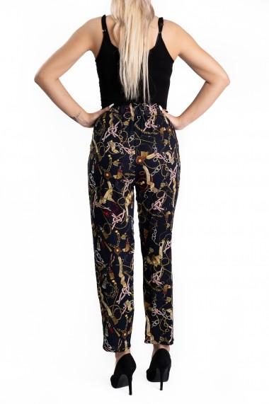 Pantaloni Dama Masura Mare cu Imprimeu Floral Marise