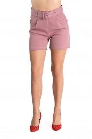 Pantaloni Dama Roz Scurti Eleganti