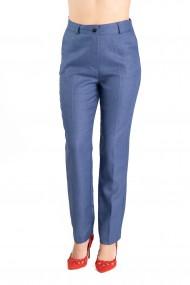 Pantaloni Eleganti Albastri Marime Mare Agnete