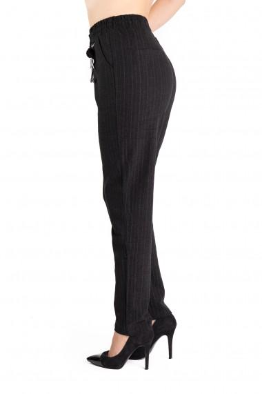 Pantaloni Marime Mare Negri Layla