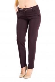 Pantaloni Dama Office Grena Sienna -Premium