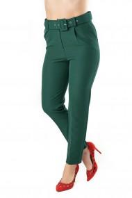 Pantaloni Dama Eleganti Verzi Carol Premium
