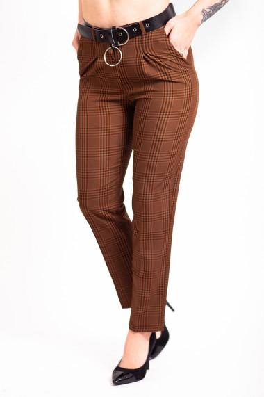 Pantaloni eleganti dama Dody maro carouri