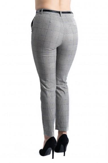 Pantaloni Arabella Gri Premium Office