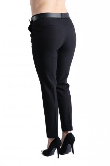 Pantaloni Ava Eleganti Marime Mare Negri Premium