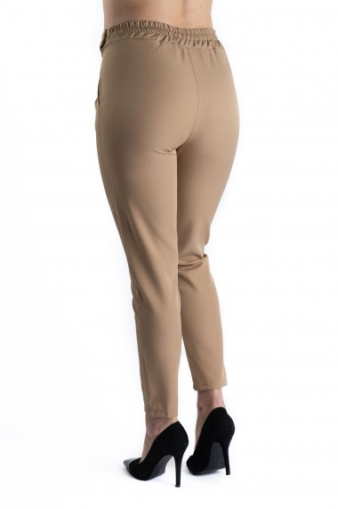 Pantaloni Dama Eleganti Victoria Crem