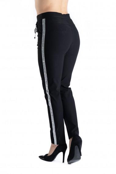 Pantaloni Avery Marime Mare Negri